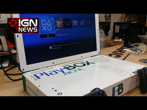 The PlayBox 4One is a Combo PS4 and Xbox One Laptop - IGN News