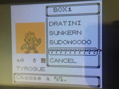 Pokemon Crystal - Cloning gone wrong