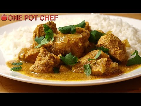 Easy Slow Cooker Butter Chicken | One Pot Chef