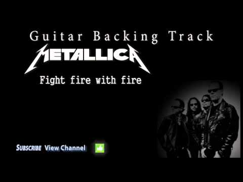 Metallica - Fight fire with fire (Guitar Backing Track) w/Vocals