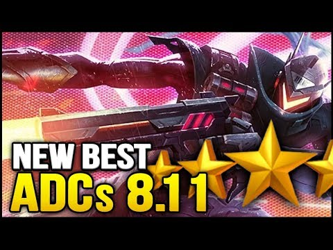 New Best ADCs for Patch 8.11   ALL ADCs Ranked from Best to Worst for Solo Queue