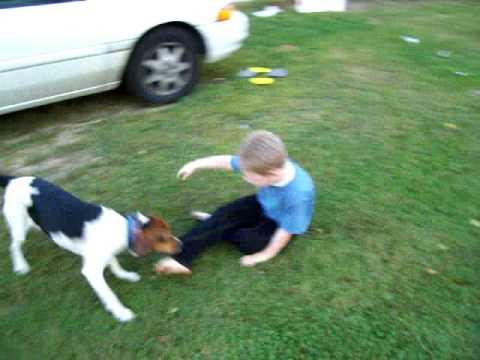 Ruford's Revenge ( DOG GETS BACK AT KID) FUNNY!!!