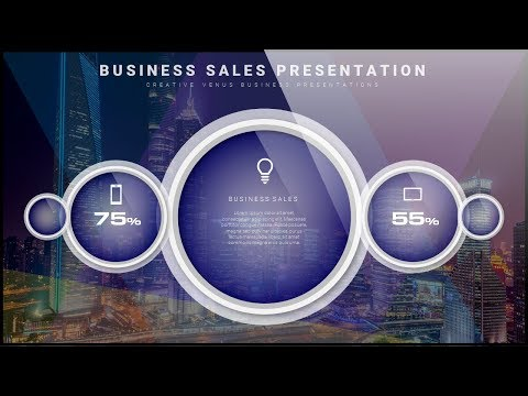 How To Create a Business Performance Sales Slide Design in Microsoft Office 365 PowerPoint PPT