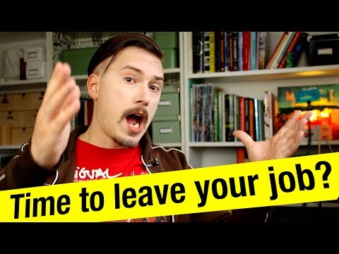 Time to leave your job? - MPJ's Musings - Fun Fun Function