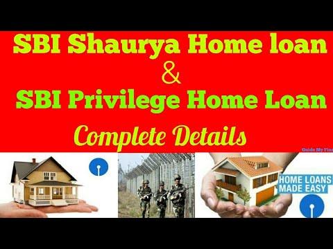 SBI Shaurya & Privilege Home Loan   Complete Details of SBI Shaurya & Privilege Home Loan