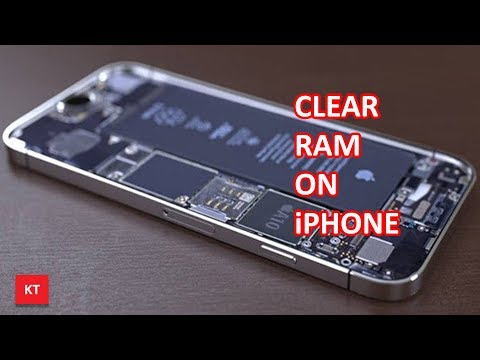 How to clear ram on an iPhone