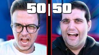 É INACREDITÁVEL, DESAFIO 50/50 COM DAMIANI E DAVY