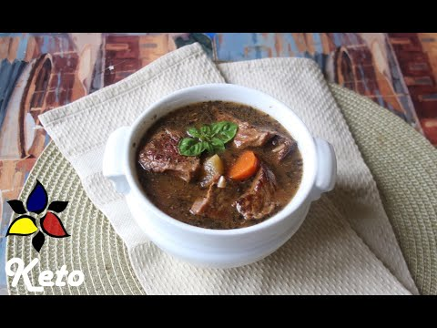 All American Slow Cooker Keto Beef Stew   Keto Recipes