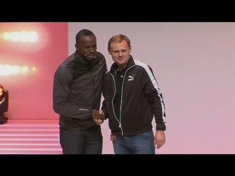 Usain Bolt extends sponsorship with Puma