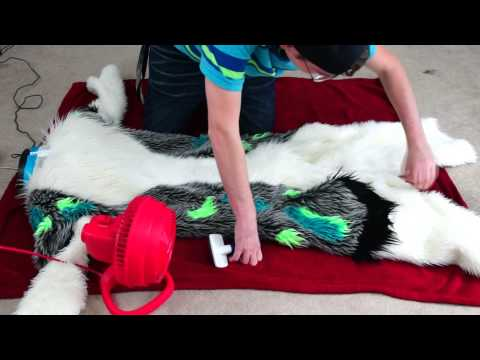 How to take care of your fursuit: Washing and Drying