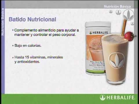 Nutricion escencial para la vida Diaria Herbalife Shake and aislated protein soy