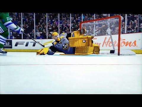 BEST NHL 15 EASHL Goalie Build and Play Style (.900+ SV%)