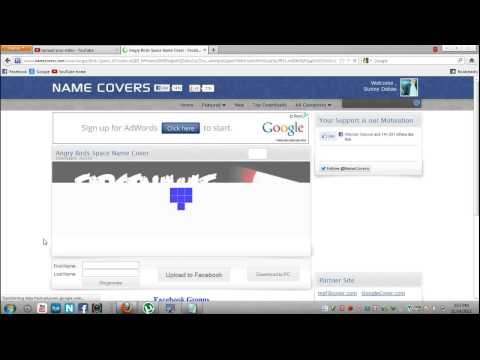HOW TO GET NAME COVERS ON FACEBOOK TIMELINE