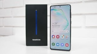 Samsung Note 10 Lite Unboxing & Overview The S Pen Difference