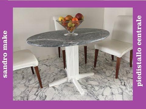 piedistallo centrale per tavolo - Pedestal Kitchen Table