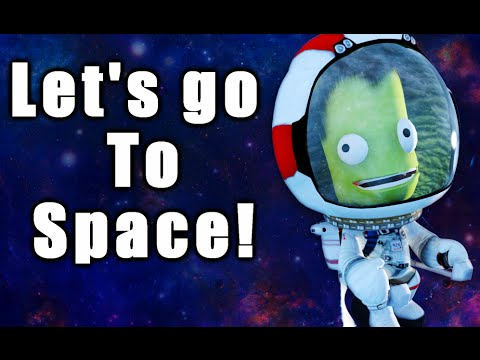 The Helicoptopodes Is GOING TO SPACE! | Kerbal Space Program | Part 4
