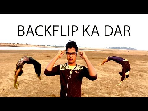 HOW TO OVERCOME FEAR IN BACKFLIP HINDI