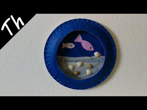 DIY Paper Plate Aquarium