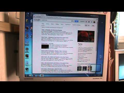 Google's voice engine search with Chrome in Win 7(+Greek)