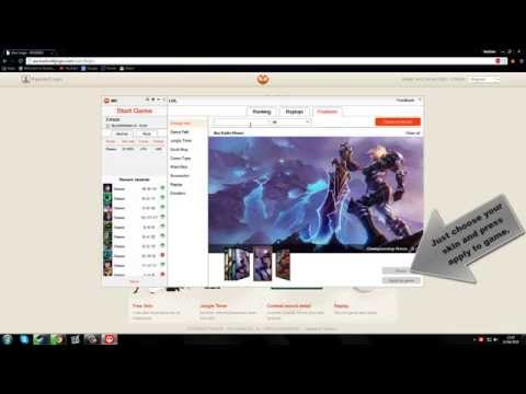 League of Legends:How to get free skins,ward skins and record your games!