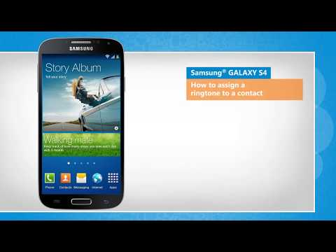 Set a Contact Ringtone to Samsung® GALAXY S4