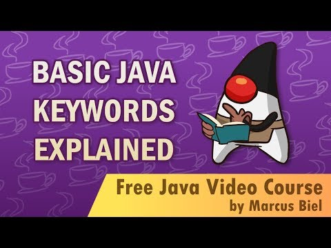 Java for Beginners 3 - Basic Java keywords explained - Debriefing