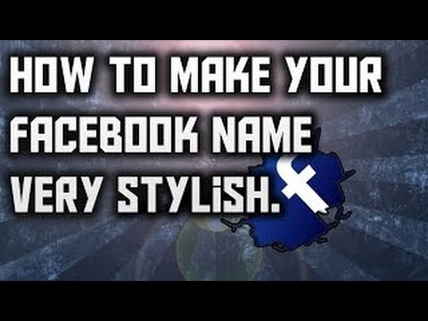 How to change facebook profile name in stylish font [[Hindi]]