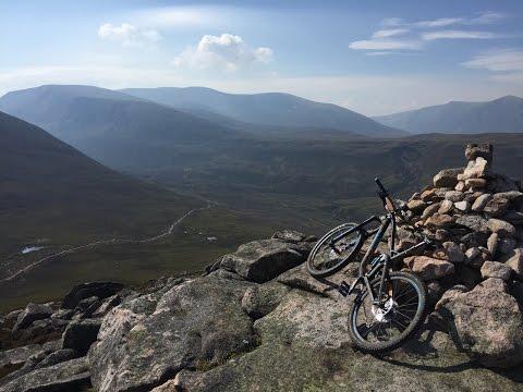 MTB Lairig Ghru    Cairngorms   Scotland