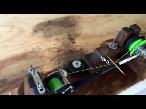 Homemade Fishing Reel Spooler