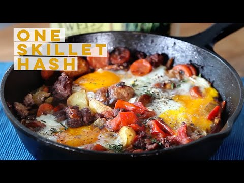 One Skillet Hash | The Perfect Brunch Addition | Fidel Gastro