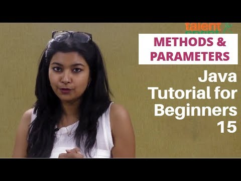 Methods with Parameters | Program to find Palindrome | Java tutorial for Beginners 16 | TalentSprint