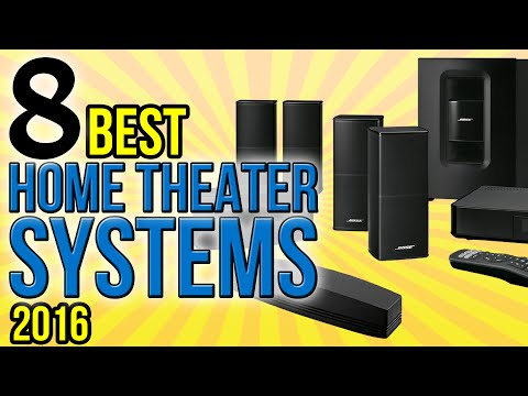 8 Best Home Theater Systems 2016