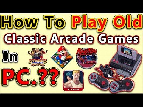 How To Play Old Arcade Games On PC | 8 Bit Games | 16 Bit games | 32 Bit Games | In Hindi/Urdu |