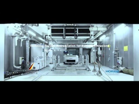 HORIBA - Technical Service Accreditation for Exhaust Emissions - Test centre