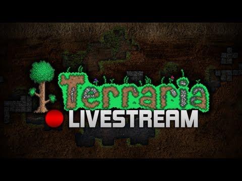 Terraria Live Steam!