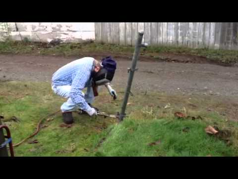 Cutting Pipe with Torch