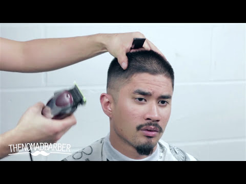 HOW TO FADE WITH ONE CLIPPER (Nomad Barber)