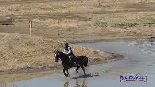 292XC Laura Tesone on Ehrens Freedom SR Beginner Novice Cross Country Twin Rivers Ranch Sept. 2019