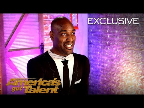 The Incredibly Flexible Troy James Recalls Scaring Simon Cowell - America's Got Talent 2018