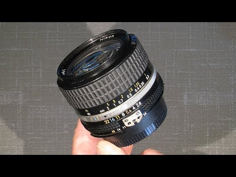 Cleaning lens element's in Ai-s Nikkor 24mm 1:2.8