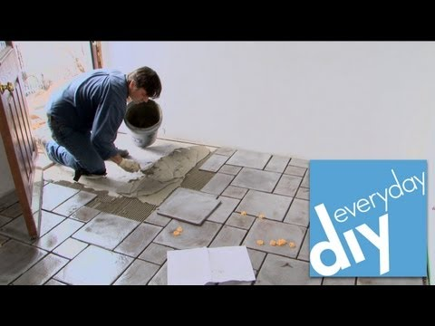 How to Install a Tile Floor -- Buildipedia DIY