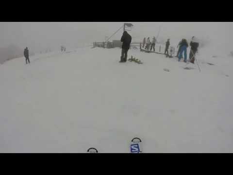 Skiiing On Ben Lomond Mountain, Tasmania