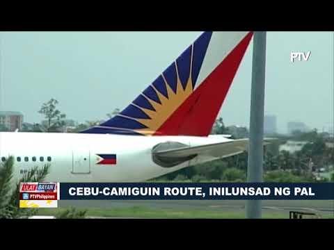 Cebu-Camiguin route, inilunsad ng PAL