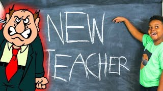 Shiloh and Shasha BACK TO SCHOOL TEACHER!? - Onyx Kids