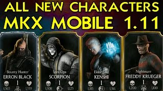 MKX MOBILE Version 1 11 - SPEC OPS SCORPION GAMEPLAY | Daikhlo