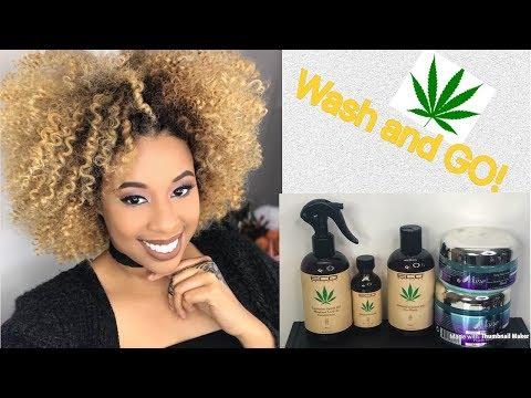 Wash and Go/Cannabis Hair Products? The Mane Choice
