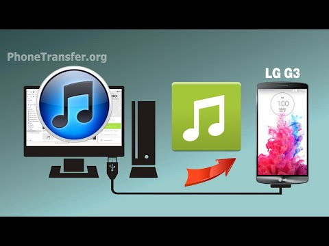 How to Sync iTunes Music with LG G4, G3, Transfer Playlist from iTunes to LG G3
