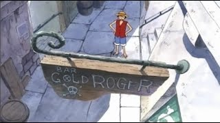 Luffy Visits Gol D Roger's Bar - One Piece HD