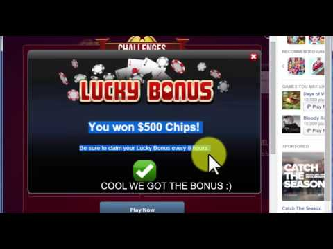 Collect Texas HoldEm Poker Bonuses Shared By Other Players : Gameskip.Com