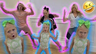 EVERLEIGH TEACHES US HOW TO DANCE **HILARIOUS**! With Cole&Sav